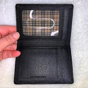 NWOT Burberry Card Case